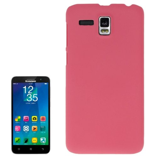 Frosted Protective Hard Plastic Cover for Lenovo A806/ A808T/ A808T-i (Magenta)