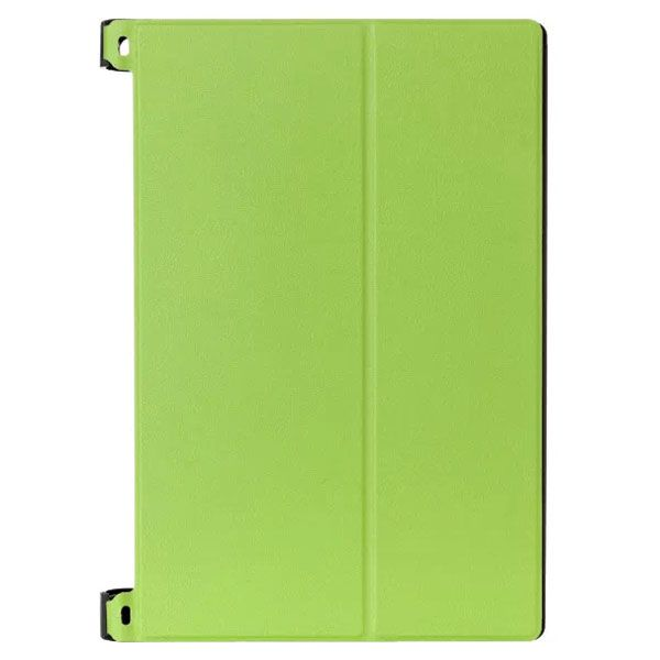 Karst Texture 2-Folding Style Leather Case for Lenovo Yoga Tablet 2 8 inch (Green)