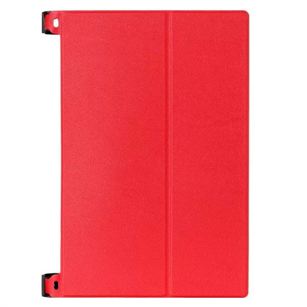 Karst Texture 2-Folding Style Leather Case for Lenovo Yoga Tablet 2 8 inch (Red)