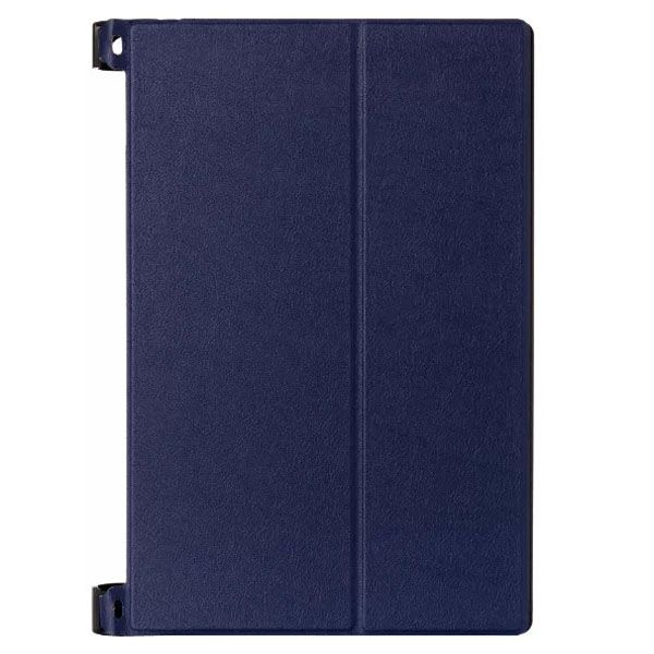 Karst Texture 2-Folding Style Leather Case for Lenovo Yoga Tablet 2 8 inch (Blue)