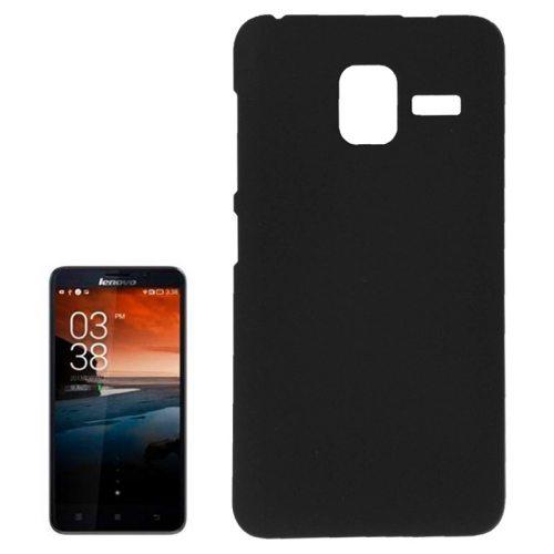 Pure Color Style Anti-Scratch Hard Plastic Case for Lenovo A850+ (Black)