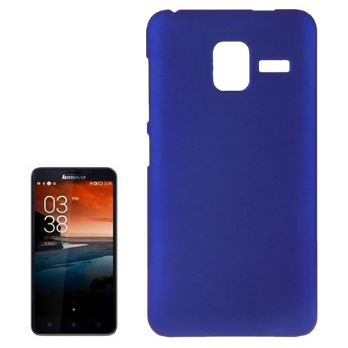 Pure Color Style Anti-Scratch Hard Plastic Case for Lenovo A850+ (Blue)