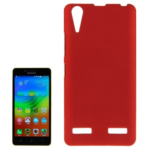 Fashion Design Pure Color Plastic Back Cover Protective Case for Lenovo Lemon K3 / K30(Red)