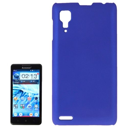 Pure Color Style Anti-Scratch Hard Plastic Case for Lenovo P780 (Blue)