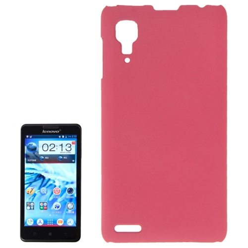 Pure Color Style Anti-Scratch Hard Plastic Case for Lenovo P780 (Pink)