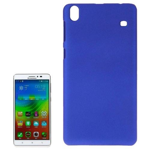 Pure Color Protective Plastic Case Cover for Lenovo Note 8 A936 (Dark Blue)