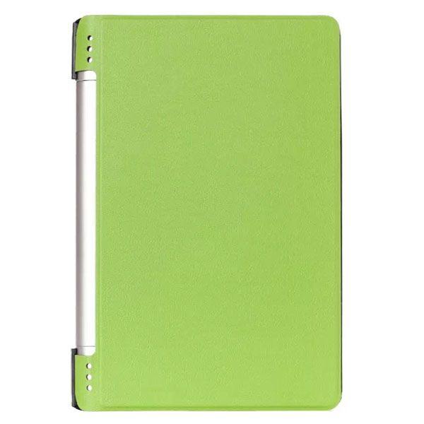 Karst Texture PU Leather Flip Case for Lenovo Yoga 8 B6000 (Green)