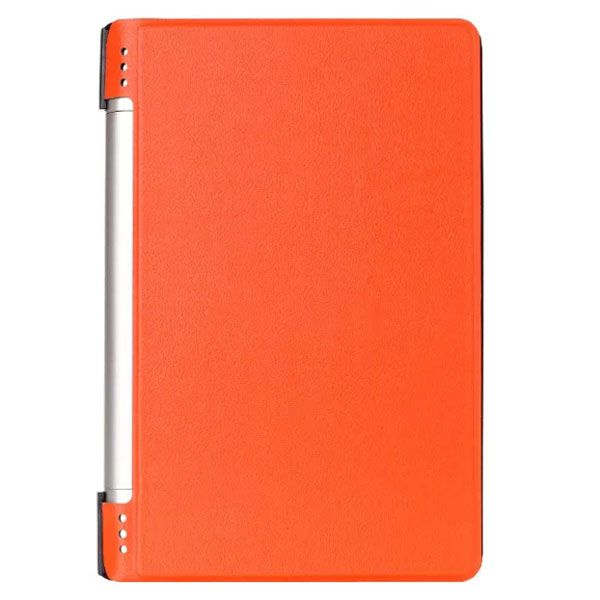 Karst Texture PU Leather Flip Case for Lenovo Yoga 8 B6000 (Orange)