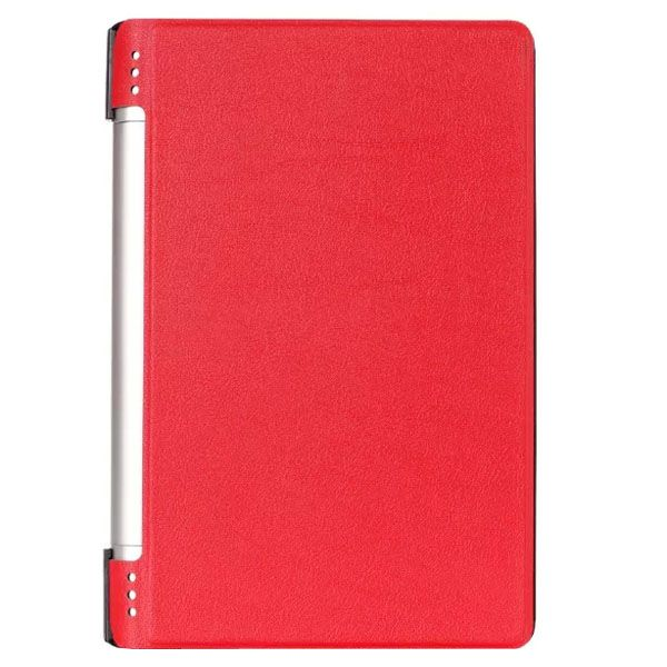 Karst Texture PU Leather Flip Case for Lenovo Yoga 8 B6000 (Red)