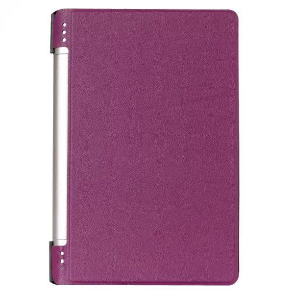 Karst Texture PU Leather Flip Case for Lenovo Yoga 8 B6000 (Purple)