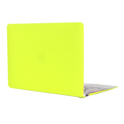 ENKAY Frosted Texture Series Hard Shell Plastic Protective Case for Macbook 12 inch (Green)
