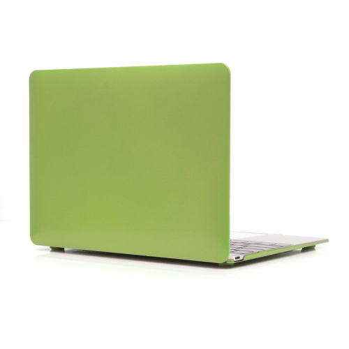 ENKAY Metal Texture Series Hard Shell Plastic Protective Case for Macbook 12 inch (Green)