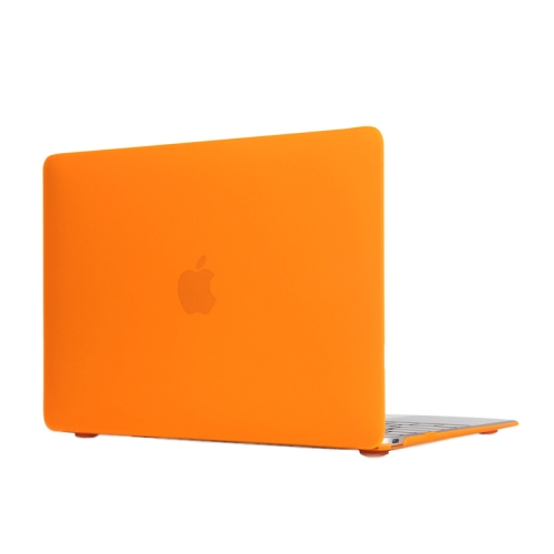 ENKAY Multi Colors Frosted Translucent Protective Hard Plastic Case for The new Macbook 12 inch (Orange)