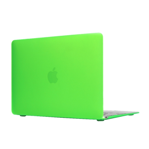 ENKAY Multi Colors Frosted Translucent Protective Hard Plastic Case for The new Macbook 12 inch (Dark Green)
