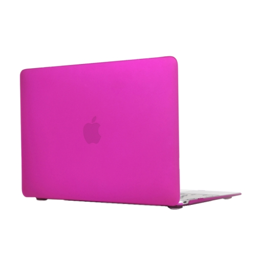 ENKAY Multi Colors Frosted Translucent Protective Hard Plastic Case for The new Macbook 12 inch (Rose)
