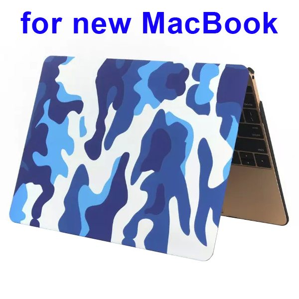 Nice Design Hard Shell Rubberized Cover for The new Macbook 12 Inch(Camouflage Pattern One)