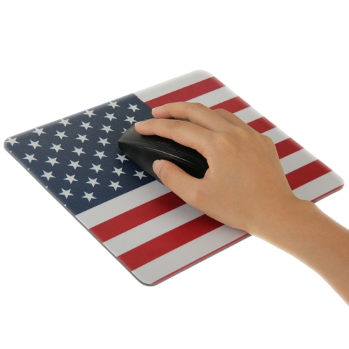 Superior Quality Mouse Pad ,Size: 22cm x 18cm (US Flag Pattern )