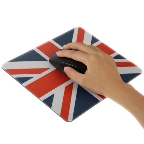 Superior Quality Mouse Pad ,Size: 22cm x 18cm (UK Flag Pattern )