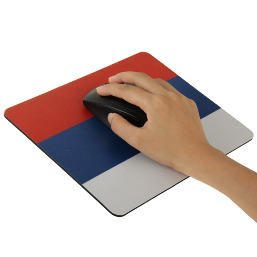Superior Quality Mouse Pad ,Size: 22cm x 18cm (Russia Flag Pattern )