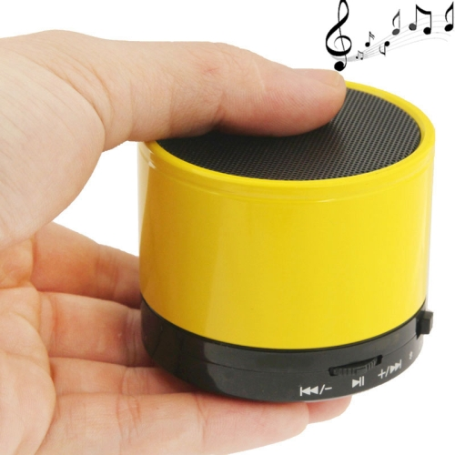 WB-02 Mini Bluetooth Speaker, Built-in Rechargeable Battery, Support Handsfree Call (Yellow)