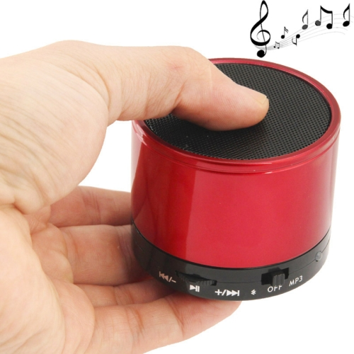 WB-02 Mini Bluetooth Speaker, Built-in Rechargeable Battery, Support Handsfree Call (Red)
