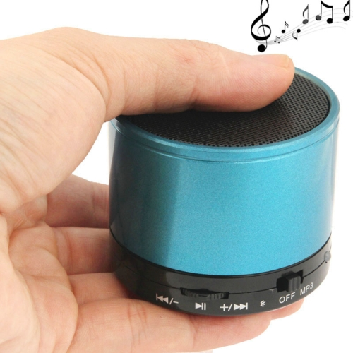 WB-02 Mini Bluetooth Speaker, Built-in Rechargeable Battery, Support Handsfree Call (Blue)