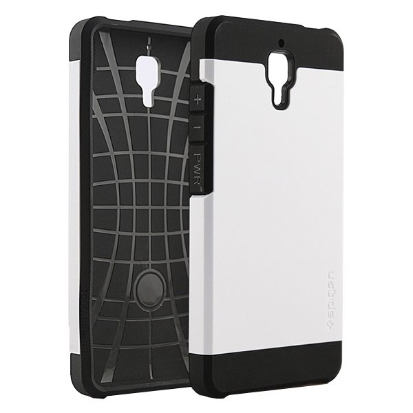 2 in 1 Pattern TPU and Hard PC Protective Hybrid Cover Case for Xiaomi M4 (White)