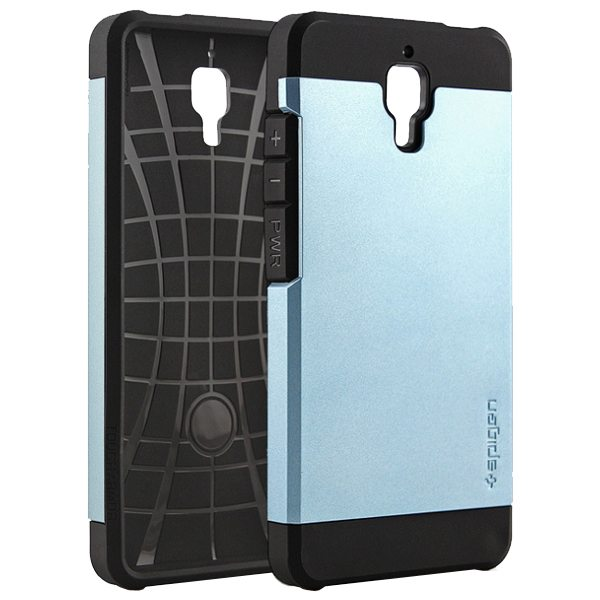2 in 1 Pattern TPU and Hard PC Protective Hybrid Cover Case for Xiaomi M4 (Baby Blue)