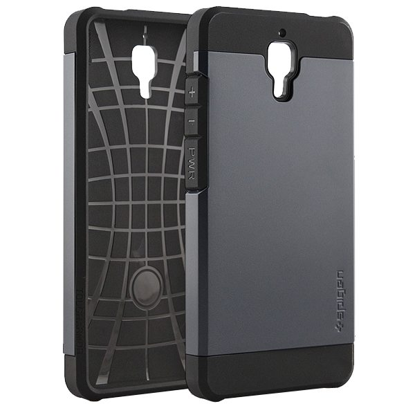 2 in 1 Pattern TPU and Hard PC Protective Hybrid Cover Case for Xiaomi M4 (Black)