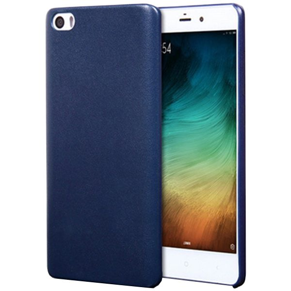 Litchi Texture Durable Protective PU Leather Cover for Xiaomi Note (Blue)