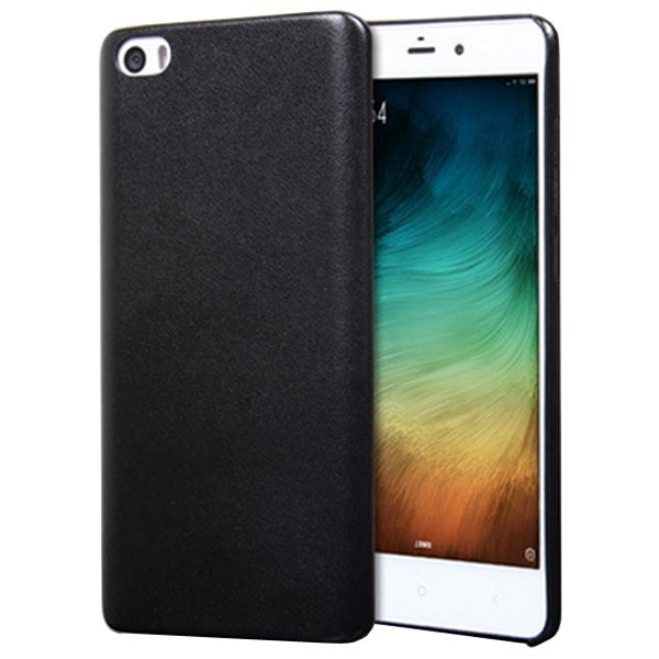 Litchi Texture Durable Protective PU Leather Cover for Xiaomi Note (Black)
