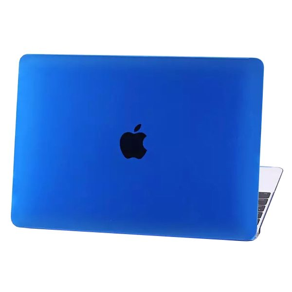 Crystal Hard Shell Rubberized Cover for The new MacBook (Dark Blue)