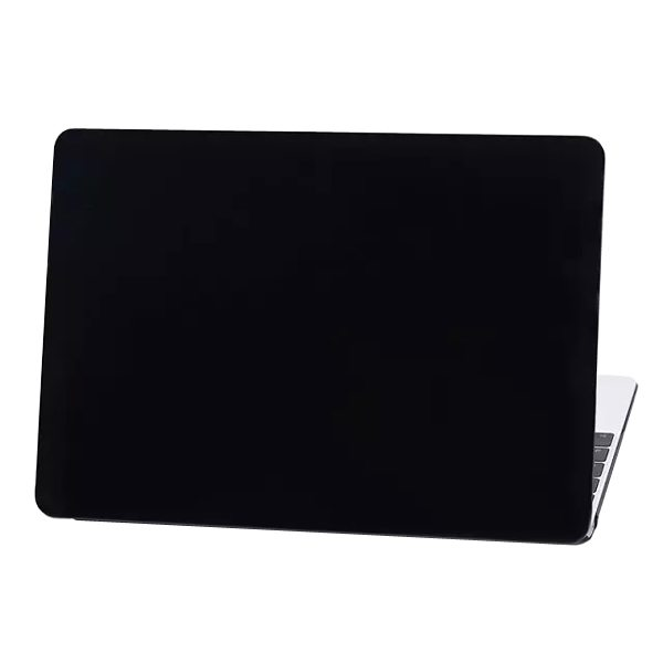 Crystal Hard Shell Rubberized Cover for The new MacBook (Black)