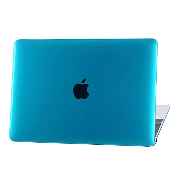 Crystal Hard Shell Rubberized Cover for The new MacBook (Blue)