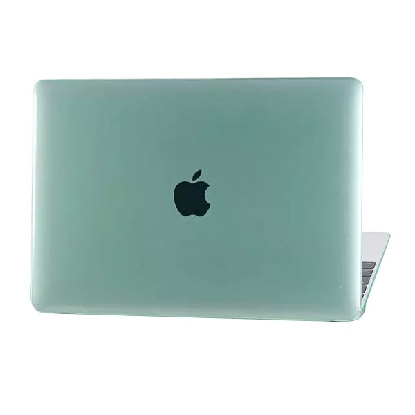 Crystal Hard Shell Rubberized Cover for The new MacBook (Green)