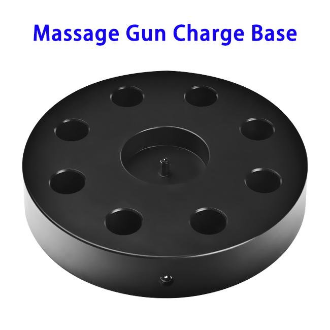 Hot Sell Gun Massagers Accessories Wireless Charger Dock Portable Massage Gun Charging Base