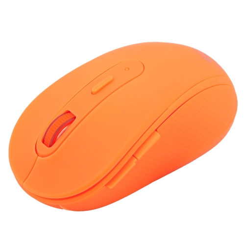 RF-6050 2.4GHz 800 / 1000 / 1200 / 1600 DPI Wireless Silent Gaming Optical Mouse (Orange)