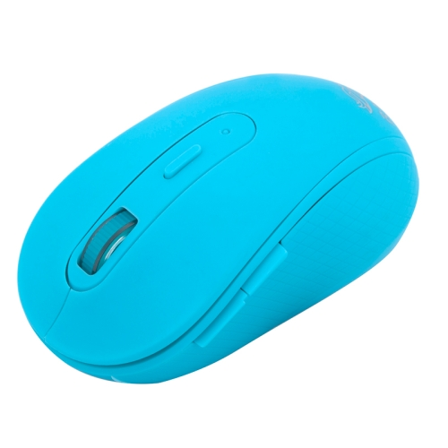 RF-6050 2.4GHz 800 / 1000 / 1200 / 1600 DPI Wireless Silent Gaming Optical Mouse (Blue)