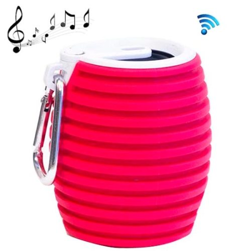 Q9 Mini Portable Bluetooth Speaker Outdoor Speaker with Hang Buckle, Support TF Card (Red)
