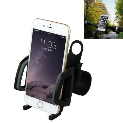 Baseus Wind Series 360 Degree Rotation Bicycle Phone Holder (Black)