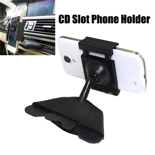 2015 Universal Adjustable Original ABS CD Slot Car Holder Mount for iPhone 6, for Samsung Galaxy S6, etc.