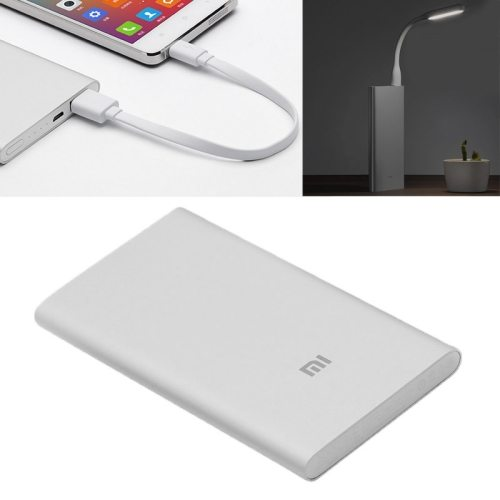 5000mAh 9.9 mm Slim Portable High Capacity USB External Battery Power Bank for Xiaomi