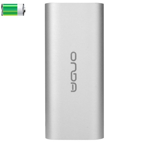 4000mAh ONDA V400 Portable USB External Battery Rechargeable Power Bank for Apple and Samsung (Silver)