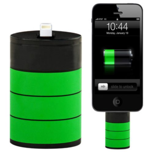 1200mAh Cool Light Rechargeable Emergency Portable Battery Pack for iPhone 5 / 6/ 6 Plus/ iPod touch 5