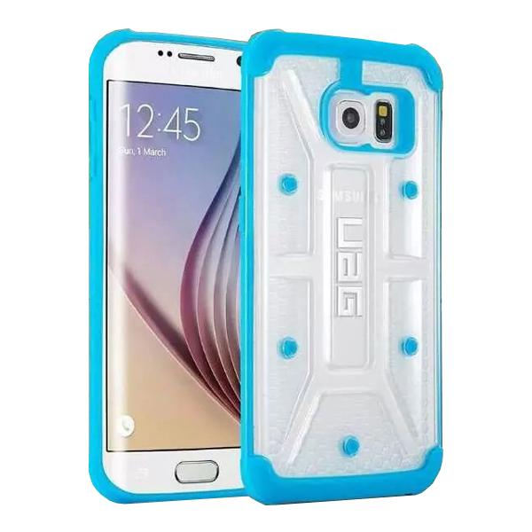 UAG Highly Transparent TPU + Matte PC Hybrid Case for Samsung Galaxy S6 Edge (Baby Blue)