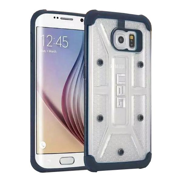 UAG Highly Transparent TPU + Matte PC Hybrid Case for Samsung Galaxy S6 Edge (Black)