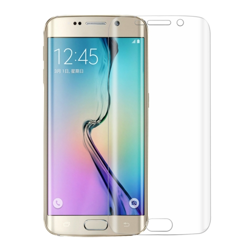 0.1mm Full Screen Design Explosion-proof Soft TPU Screen Protector for Samsung Galaxy S6 Edge