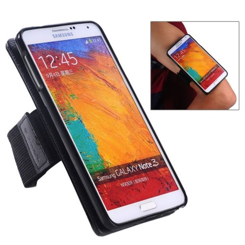 Sports Armband Case for Samsung Galaxy Note III with Detachable 2 in 1 Magnet Style