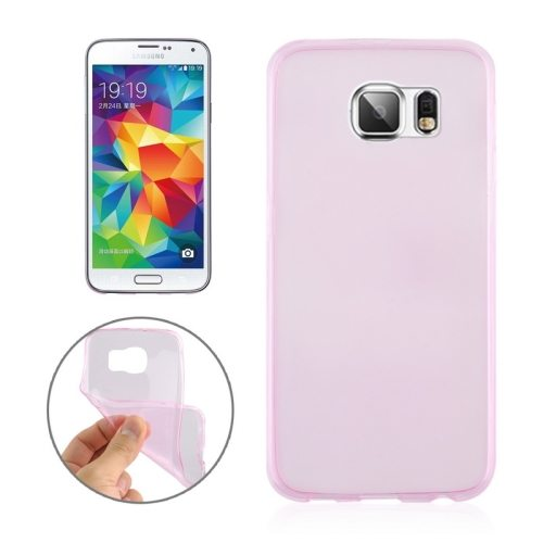 0.3mm Ultrathin Soft TPU Protective Cover for Samsung Galaxy S6 (Pink)