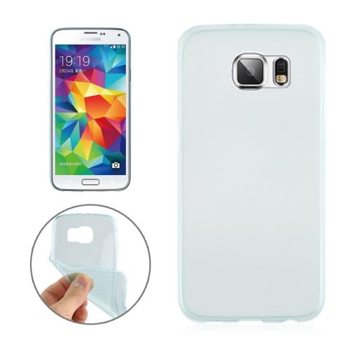 0.3mm Ultrathin Soft TPU Protective Cover for Samsung Galaxy S6 (Green)